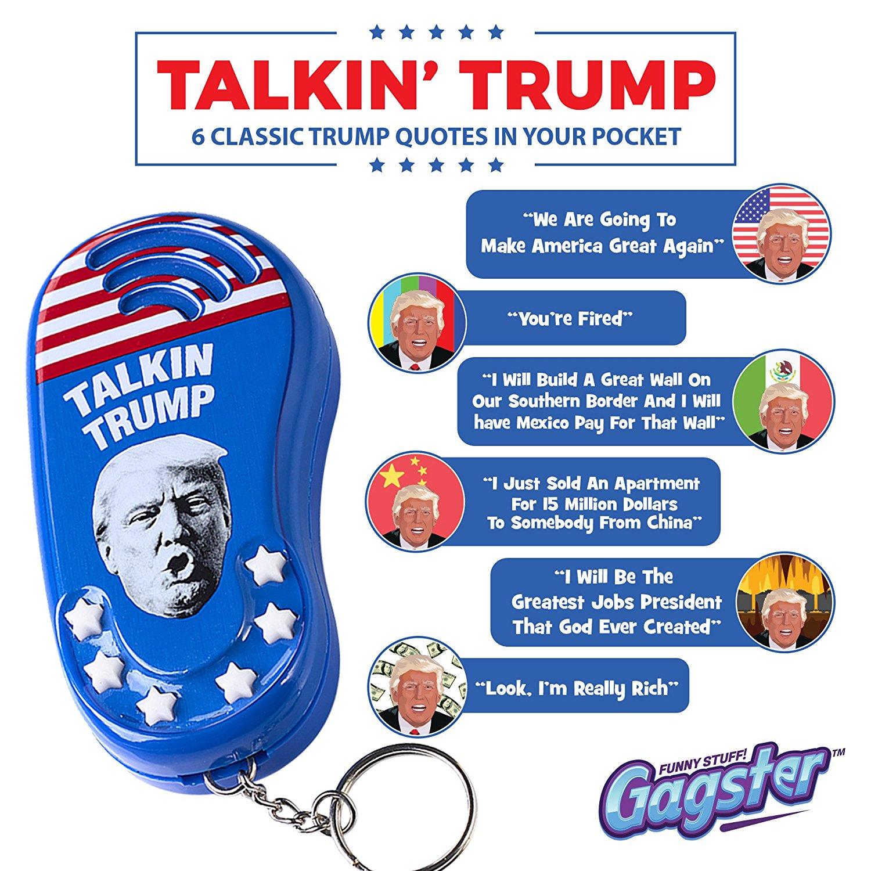 Talkin' Trump Keychain